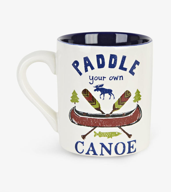 Paddle Your Own Canoe Ceramic Mug