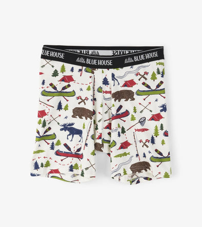 Men's Boxer Briefs-Sketch Country