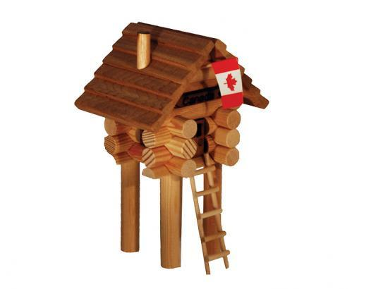Treehouse Log Cabin Kit