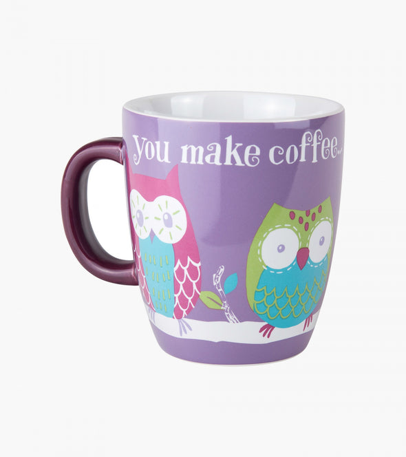 OWL WAIT CERAMIC MUG