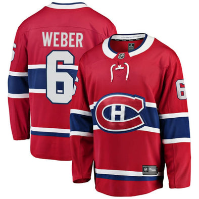 Men's Montreal Canadiens Shea Weber Player Jersey