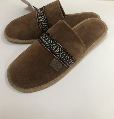 MEN'S DARK TAN MOCCASIN-STYLE 875