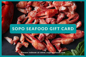SoPo Seafood Digital Gift Card