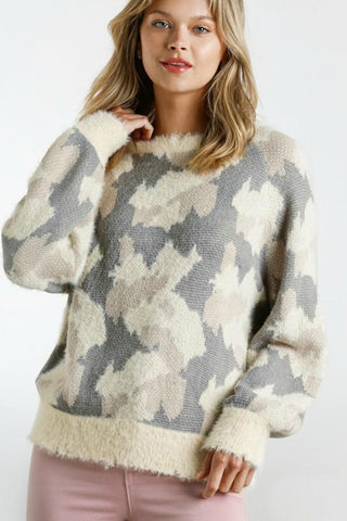 Umgee Camo Sweater