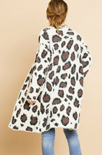 Load image into Gallery viewer, Umgee Cream Animal Print Cardigan