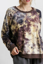 Load image into Gallery viewer, Umgee Golden Yellow Tie Dye Top
