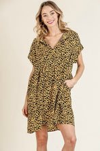 Load image into Gallery viewer, Umgee Honey Animal Print Dress - June Adel