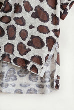 Load image into Gallery viewer, Umgee Latte Animal Print Shirt - June Adel