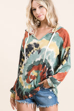 Load image into Gallery viewer, BiBi Top Tie Dye Mix with Rust and Olive