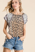 Load image into Gallery viewer, BiBi Tan Leopard Print Top - June Adel