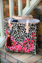Load image into Gallery viewer, Consuela Classic Tote in Seffie Brown Leopard