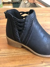 Load image into Gallery viewer, Boutique by Corkys Detailed Ankle Boot in Black - June Adel