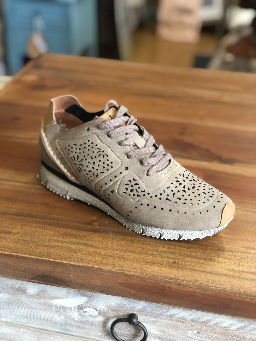 Boutique by Corkys Active Sneakers in Taupe