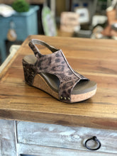 Load image into Gallery viewer, Boutique by Corkys Carley Wedge in Distressed Leopard - June Adel