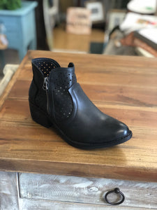 Boutique by Corkys Bismark Ankle Boots in Black