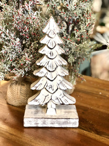 White Tree Decor