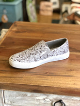Load image into Gallery viewer, Boutique by Corkys Python Sneaker in Black Snake