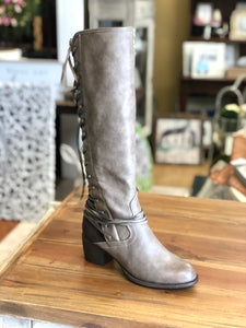 Boutique by Corkys Annabel Tall Boot in Brown - June Adel