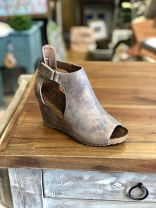 Boutique by Corkys Sunburst Shoes in Bronze - June Adel