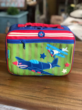 Load image into Gallery viewer, Stephen Joseph Classic Lunch Box with Airplane