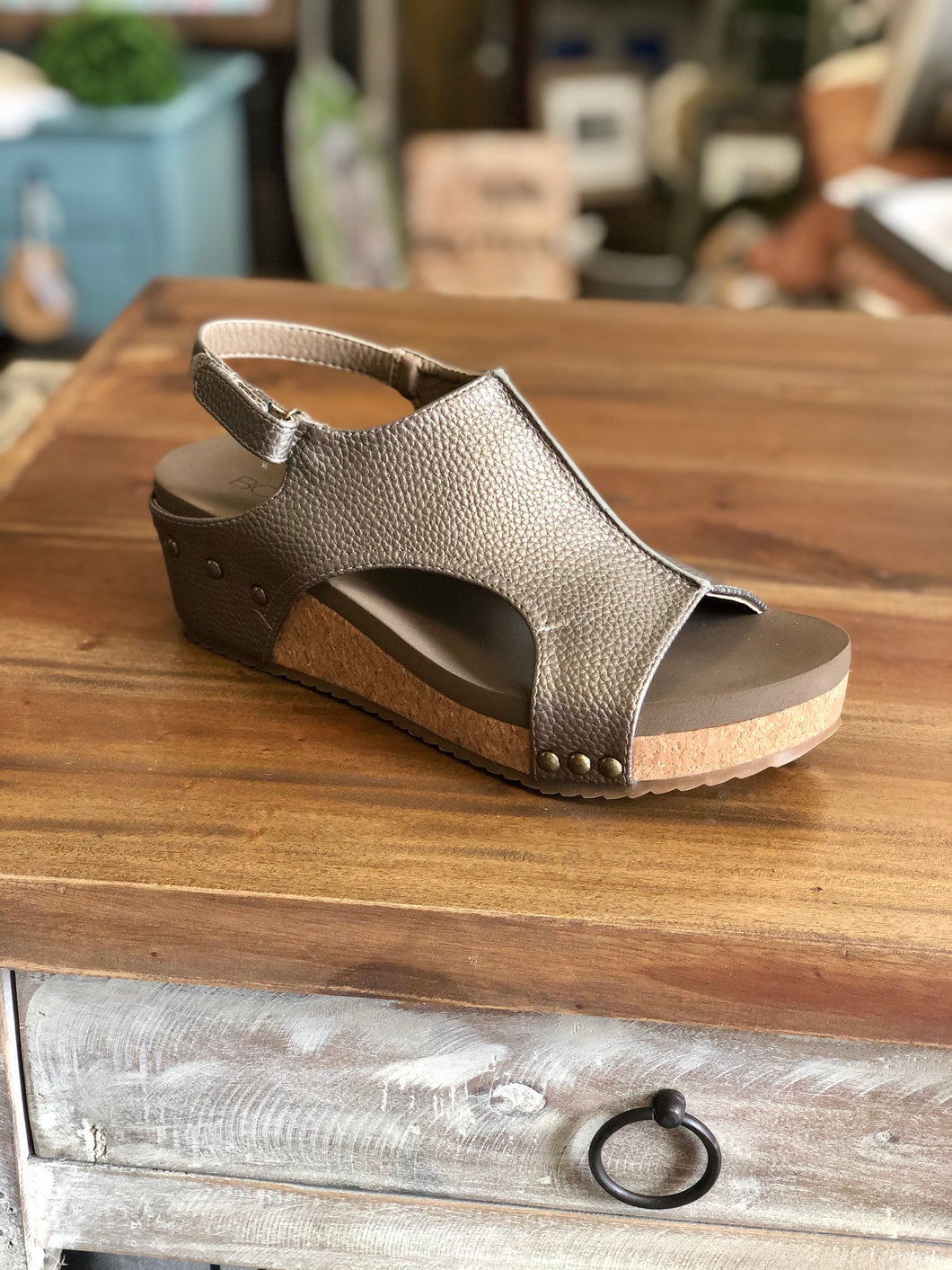 Boutique by Corkys Volta in Pewter - June Adel