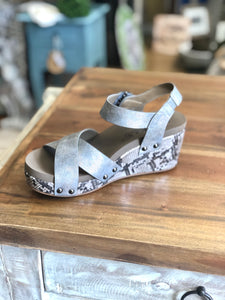 Boutique by Corkys Flax in Pewter - June Adel