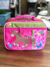Load image into Gallery viewer, Stephen Joseph Classic Lunch Box with Girl Horse