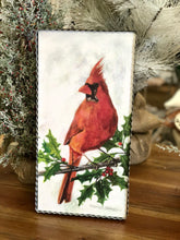 Load image into Gallery viewer, Red Cardinal on Branch Metal Wall Decor