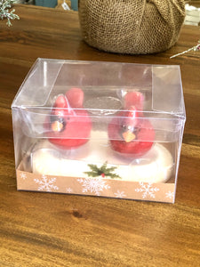 Cardinal Holiday Salt and Pepper Shakers