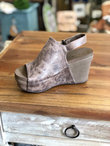 Boutique by Corkys Claudette in Brown Distressed - June Adel