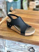 Load image into Gallery viewer, Boutique by Corkys Volta Wedges in Black - June Adel