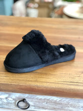 Load image into Gallery viewer, Corkys Slippers Snooze in Black