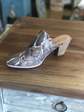 Load image into Gallery viewer, Boutique by Corkys Haisley Mule in Brown Snake