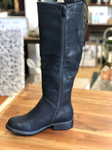 Boutique by Corkys Ventura Boot in Black Distressed - June Adel