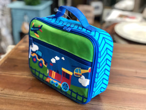 Stephen Joseph Classic Lunch Box with Transportation