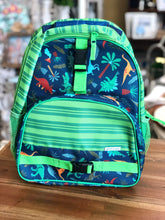 Load image into Gallery viewer, Stephen Joseph Navy Dino All Over Print Backpack