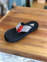 Load image into Gallery viewer, Corkys Footwear Bear Houndstooth Flip Flops