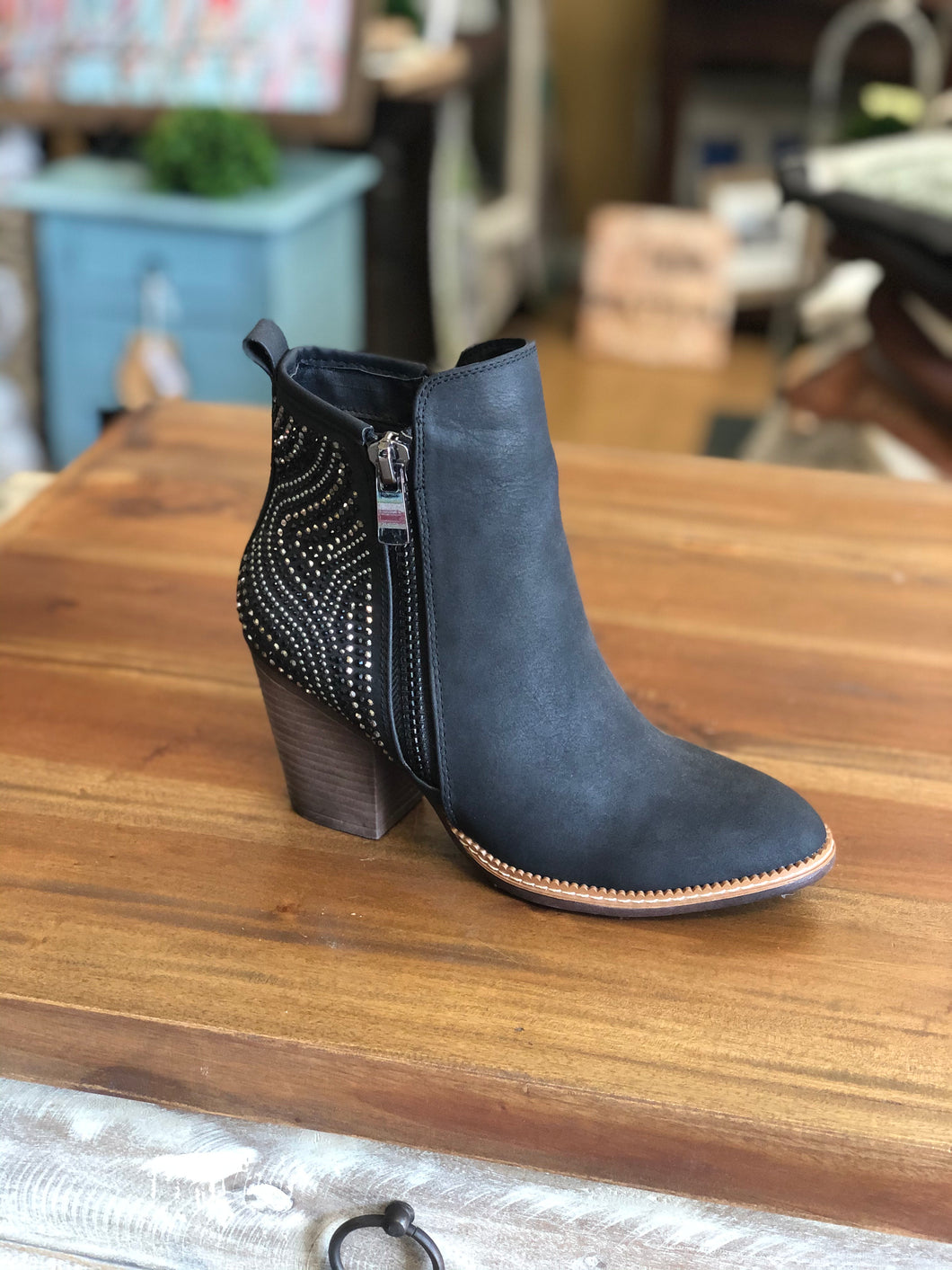 Boutique by Corkys Silky Boots in Black