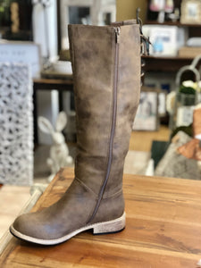 Boutique by Corkys Ventura Boots in Brown Distressed - June Adel