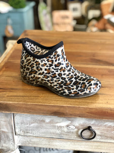 Corkys Stormy Rain Ankle Boots in Cheetah - June Adel