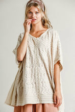 Load image into Gallery viewer, Umgee Taupe Knit Kaftan Top