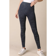 Load image into Gallery viewer, Seamless Lace Design Bella Leggings in Vintage Denim - June Adel