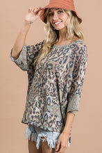 Load image into Gallery viewer, Animal Print Top by Bucketlist
