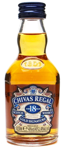 Chivas Regal - 18 Años - Blended Scotch Whisky - Escocia - 50cc