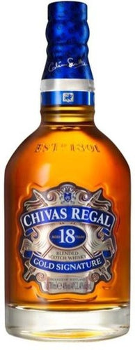 Chivas Regal - 18 Años - Blended Scotch Whisky - Escocia - 750cc