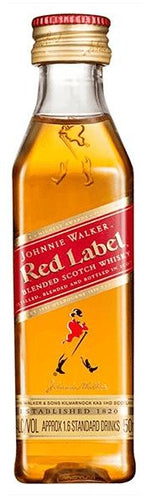 Johnnie Walker - Red Label - Blended Scotch Whisky - Escocia - 50cc