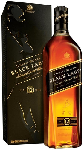 Johnnie Walker - Black Label - Blended Scotch Whisky - Escocia - 750cc