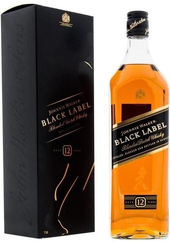 Johnnie Walker - Black Label - Blended Scotch Whisky - Escocia - 1000cc