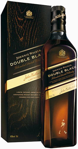 Johnnie Walker - Double Black - Blended Scotch Whisky - Escocia - 750cc