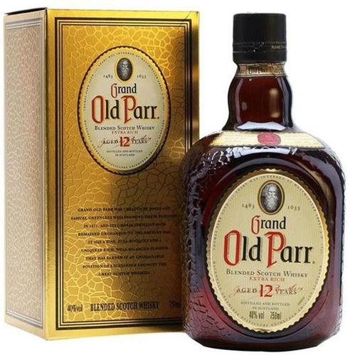 Old Parr - 12 Años - Blended Scotch Whisky - Escocia - 1000cc